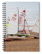 Hastings Sailing Boats Spiral Notebook