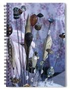Hatpins  Spiral Notebook