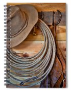 Hats And Chaps Spiral Notebook