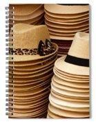 Hats For Sale Salvador Brazil Spiral Notebook