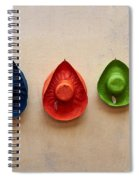 Hats. Lazise. Lago Di Garda Spiral Notebook