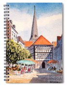 Hattingen Germany Spiral Notebook
