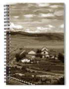 Hatton Ranch Carmel Valley From Highway One California  1940 Spiral Notebook