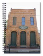 Haunted Historic Saloon Spiral Notebook
