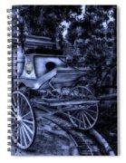 Haunted Mansion Hearse At Midnight New Orleans Disneyland Spiral Notebook