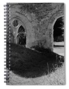 Haunted Mortemer Abbey Spiral Notebook