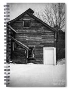 Haunted Old House Spiral Notebook