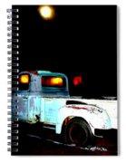 Haunted Truck Spiral Notebook