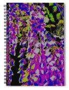 Haunted Wisteria  Spiral Notebook