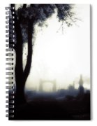 Haunting On All Hallow's Eve Spiral Notebook