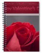 Hau'oli Ka La Aloha Kakou - Happy Valentine's Day Spiral Notebook