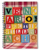 Have No Fear Of Perfection You Will Never Reach It Spiral Notebook
