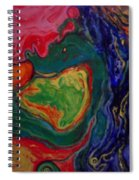 Have No Fear The Angel Of Love Is Here Spiral Notebook
