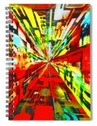Have You Advertised In Hyperspace? Spiral Notebook