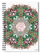 Have Yourself A Faery Little Christmas Spiral Notebook