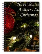Have Yourself A Merry Little Christmas Spiral Notebook