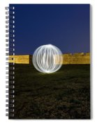 Having A Ball At The Fort Spiral Notebook