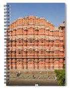 Hawa Mahal Palace Of Winds Spiral Notebook