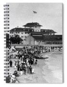 Hawaii Beach, 1914 Spiral Notebook
