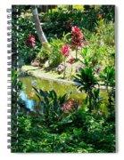 Hawaiian Cultural Garden Honolulu Airport Spiral Notebook
