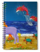 Hawaiian Lei Parade Spiral Notebook
