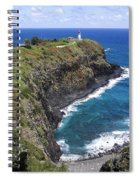 Hawaiian Lighthouse Spiral Notebook