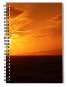 Hawaiian Sunset Spiral Notebook