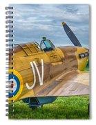 Hawker Hurricane 7d08c Spiral Notebook