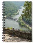 Hawks Nest Overlook 8 Spiral Notebook