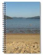 Hawksbury River From Dangar Island Spiral Notebook