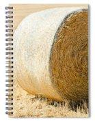 Hay Bale Spiral Notebook