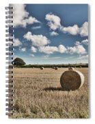Hay Bales 1 Spiral Notebook