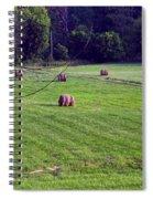 Hay Field Spiral Notebook
