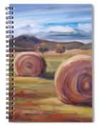 Hay Harvest Spiral Notebook