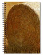 Hay In The Field Spiral Notebook