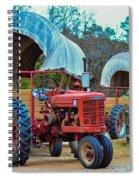 Hay Rides Trailer Spiral Notebook