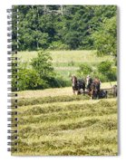 Hay Season Spiral Notebook
