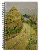 Hay Stack Spiral Notebook