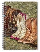 Boot Stomp Spiral Notebook