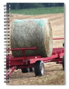 Hay Wagon Spiral Notebook