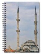 Haydarpasa Protokol Cami Mosque 02 Spiral Notebook