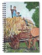 Haying Circa 1920 Spiral Notebook