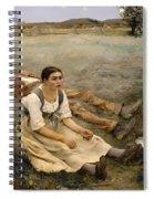Haymaking  Spiral Notebook