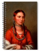 Hayne Hudjihini . Eagle Of Delight Oto Spiral Notebook