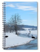 Hays Creek Winter Spiral Notebook