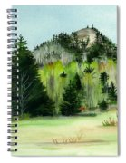 Haystack Mountain Castle Hill Me Spiral Notebook