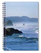Haystack Rocks In Cannon Beach Spiral Notebook
