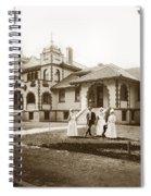 Hazel Hawkins Hospital Monterey Street Hollister California Circa 1907 Spiral Notebook