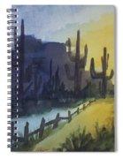 Hazy Mesas Spiral Notebook