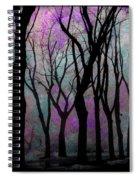 Hazy Purple Spiral Notebook